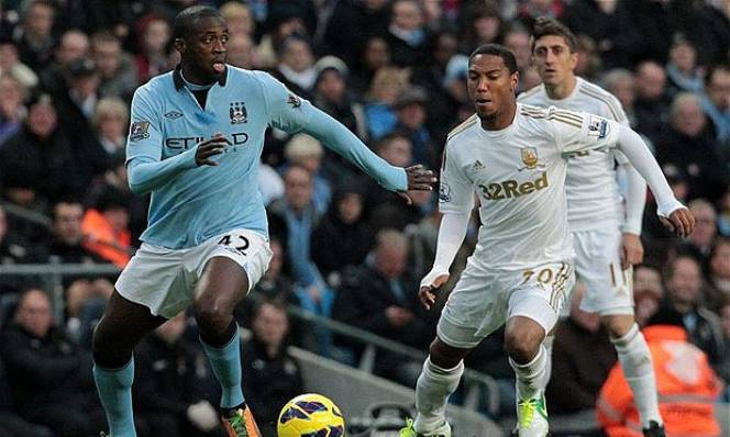 Man City vs Swansea City