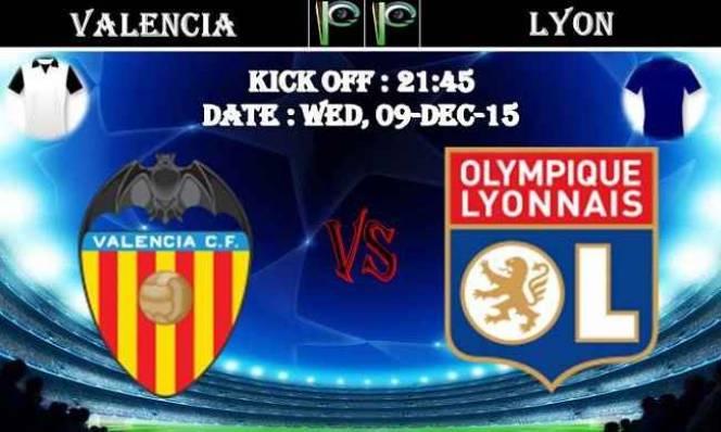 Valencia vs Lyon