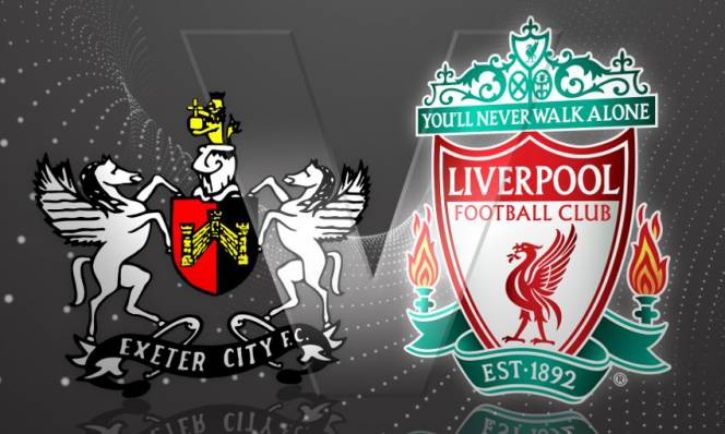 Exeter City vs Liverpool