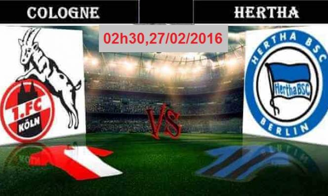 FC Koln vs Hertha Berlin