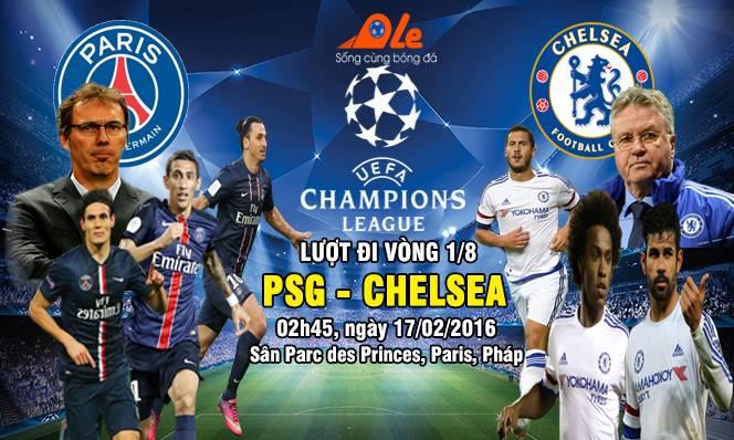 PSG vs Chelsea