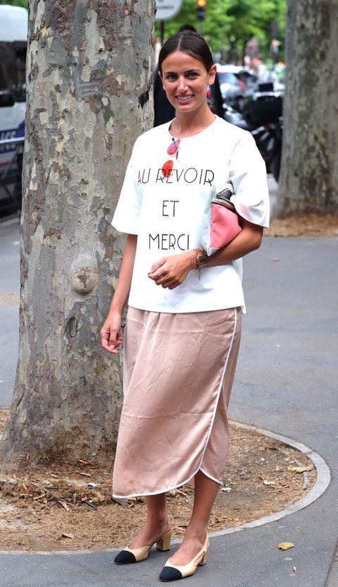 Street style ngày hè của các cô gái Pháp thanh lịch