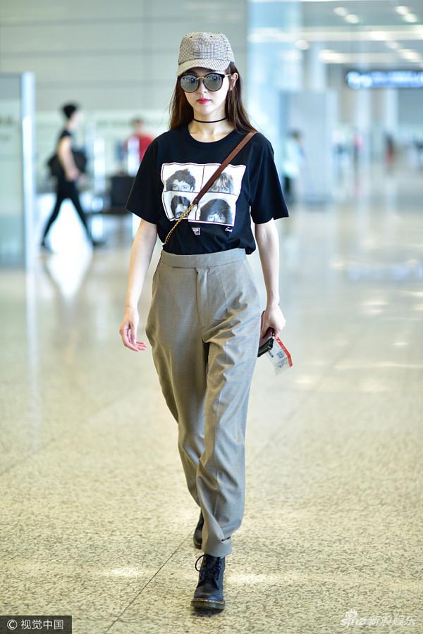 Thời trang sân bay 2017