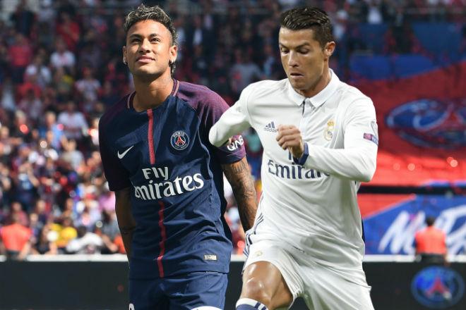 Neymar chỉ là con bài thay thế Ronaldo ở PSG