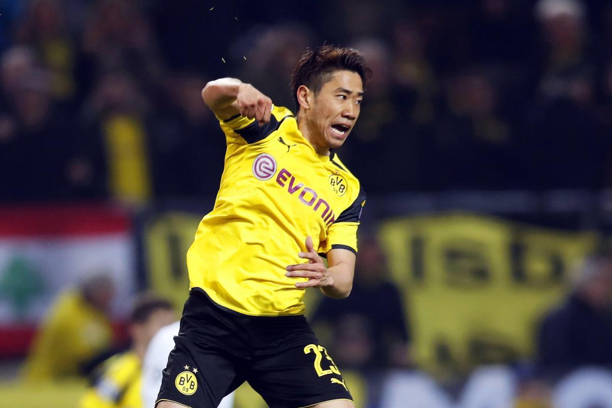 Premier League đang săn Shinji Kagawa