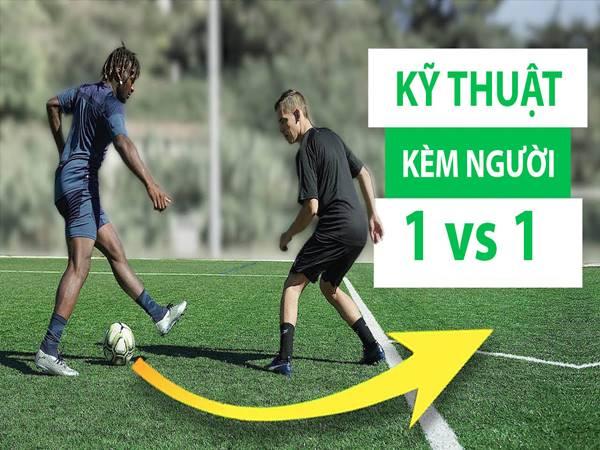 Cách kèm người trong bóng đá cho người mới chơi